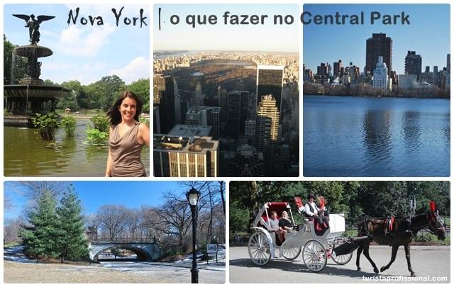 Nova York, o que fazer no Central Park