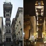 Elevador de Santa Justa: observando Lisboa do alto