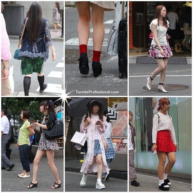 roupas das japonesas