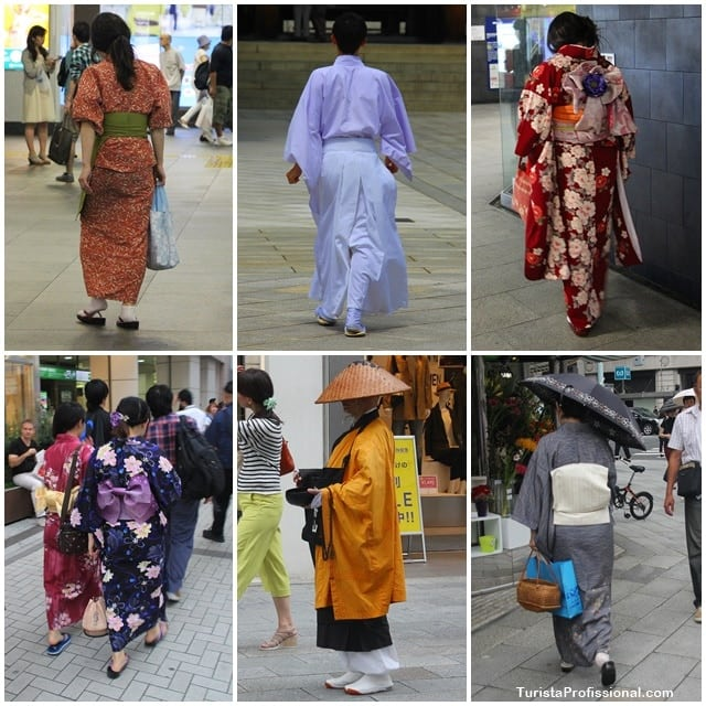 roupas japonesas