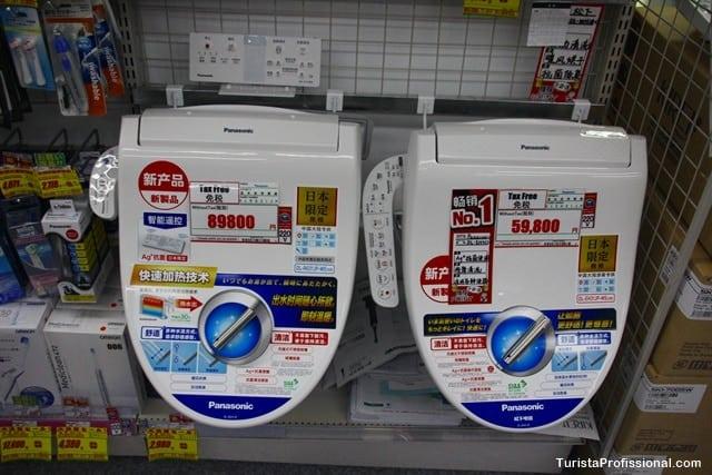 tábuas de privadas japonesas