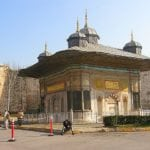 Palácio Topkapi em Istambul, Turquia, morada de sultões e imperadores