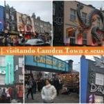 Londres   visitando Camden Town e seus markets