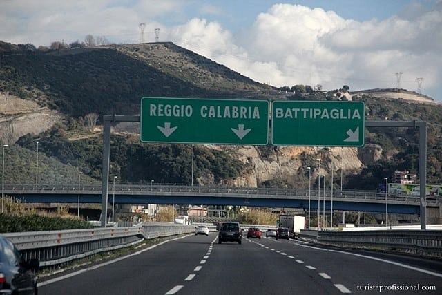 como chegar na Sicília