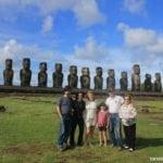 Ilha de Páscoa, viagem em família