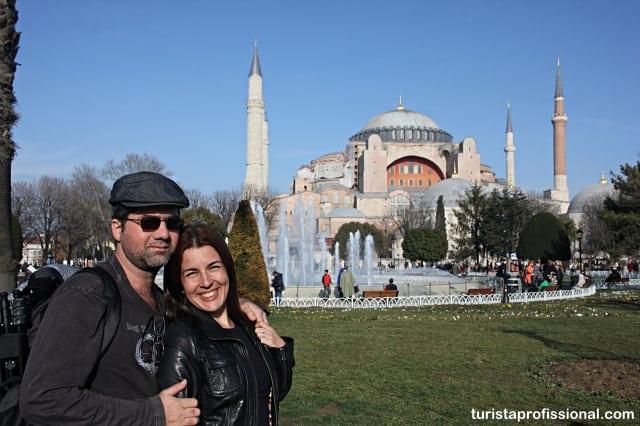 Santa Sofia, em Istambul