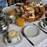 Café da manhã ou chá da tarde no Las Violetas em Buenos Aires