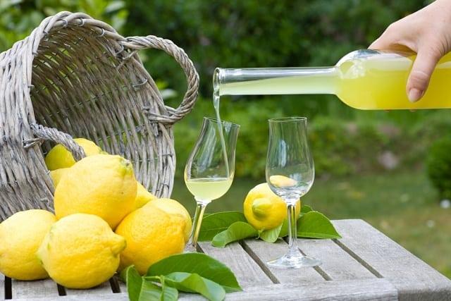 limoncello itália