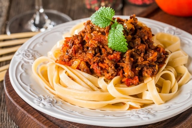 molho bolonhesa culinária italiana