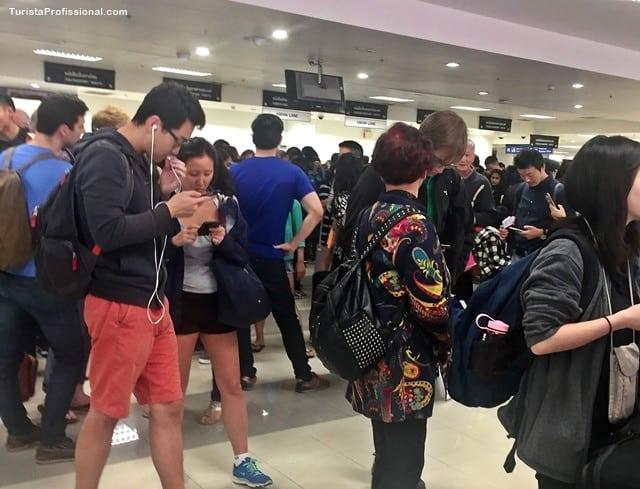 Imigração na Tailândia