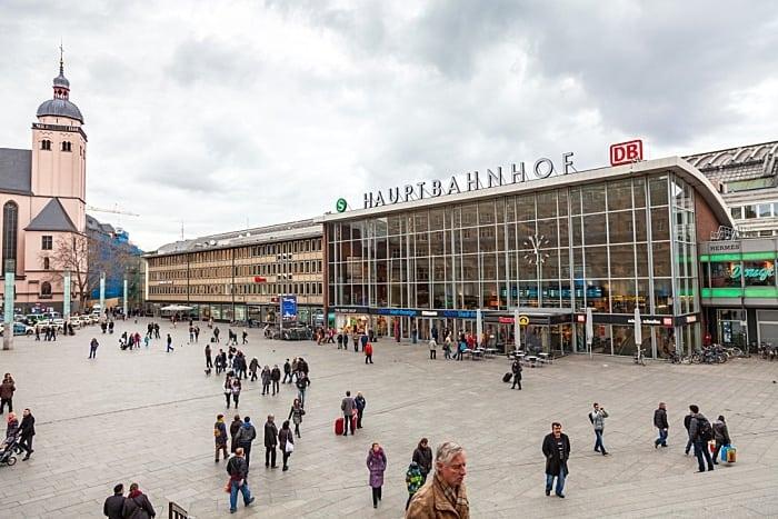 estação de trem de Colônia