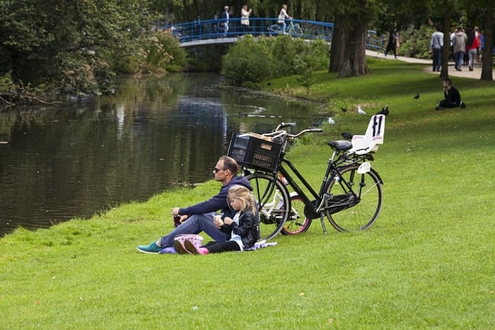 Amsterdam com crianças